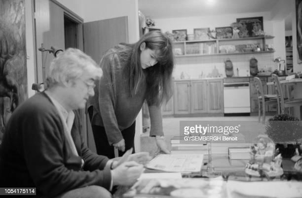 Varsovie Pologne 1998 Rendezvous avec l'actrice française Sophie MARCEAU qui vit avec son compagnon Andrzej ZULAWSKI et leur fils de trois ans...