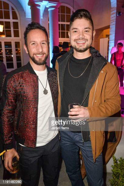 Vartan Kerasimian and Tony Lopez attend AHF's free World AIDS Day 2019 concert hosted by Primetime Emmyaward winner Billy Porter at the historic...