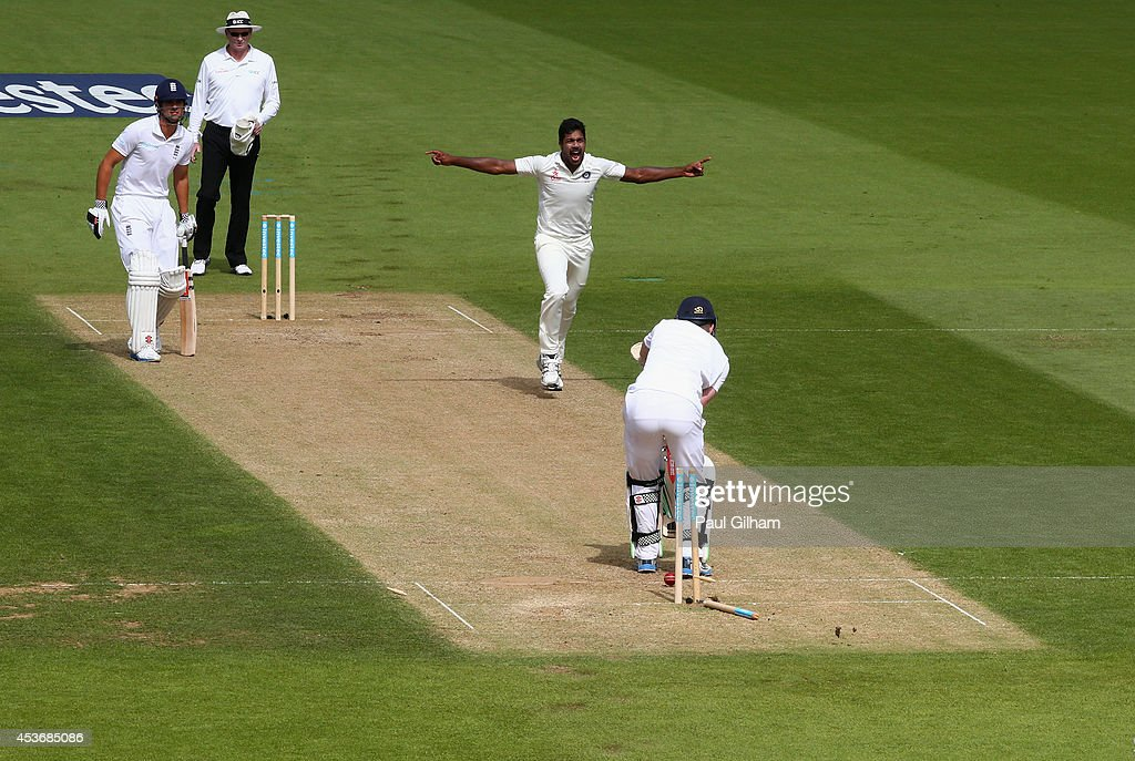 England v India: 5th Investec Test - Day Two : News Photo