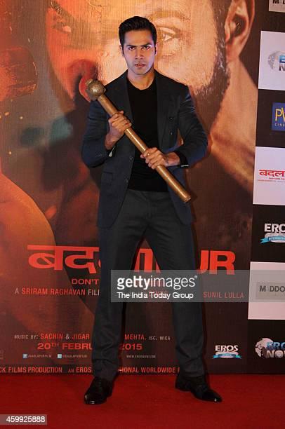 Varun Dhawan at the teaser launch of his movie Badlapur