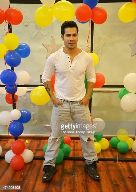 Varun Dhawan at the video shoot of his upcoming movie ABCD2 in Mumbai