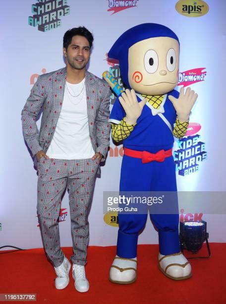 Varun Dhawan attends the Nickelodeon The Kids Choice Awards 2019 on December 202019 in Mumbai India