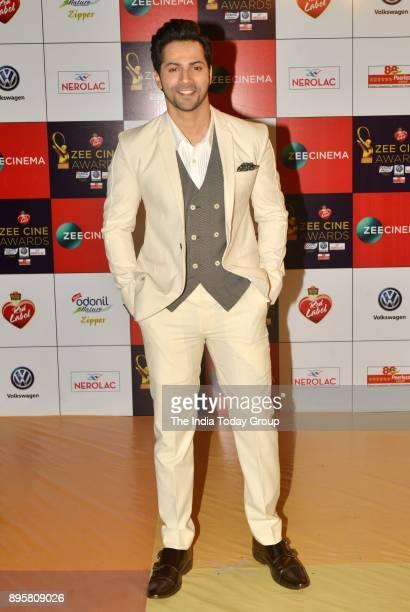 Varun Dhawan attends Zee Cine Awards 2018 held at MMRDA Grounds in Mumbai