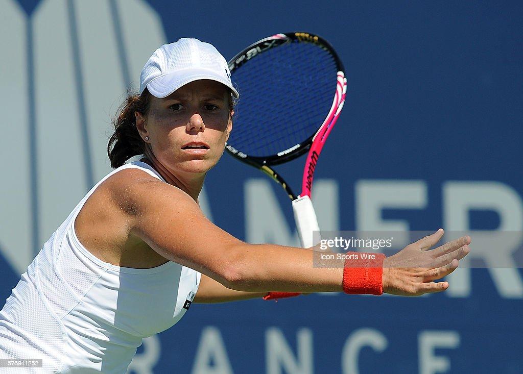 Varvara Lepchenko during a match against Nicole Gibbs ...Varvara Lepchenko Matches