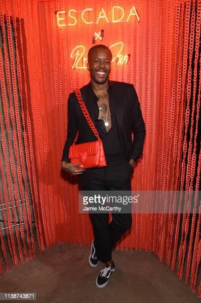 Vas Morgan attends the launch of the ESCADA Heartbag by Rita Ora on March 27 2019 in New York City
