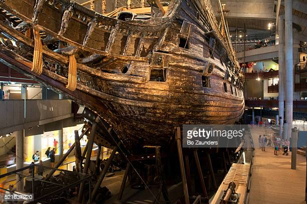vasa museum - vasa ship stock pictures, royalty-free photos & images