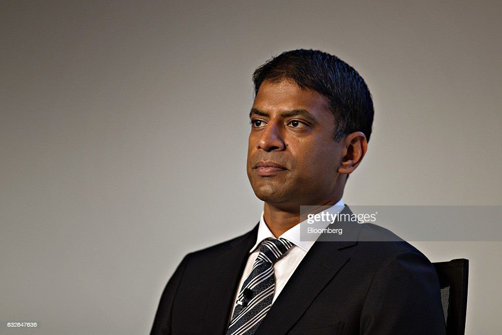 Novartis AG Full Year Results News Conference As Company Mulls IPO For Alcon Unit : News Photo