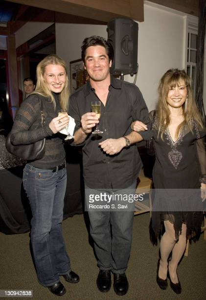 Vasara Schafer Dean Cain and Carole Schutter during Aspen Peak Magazine and Denise Rich's New Year's Party at Little Nell Sponsored by Chopard...