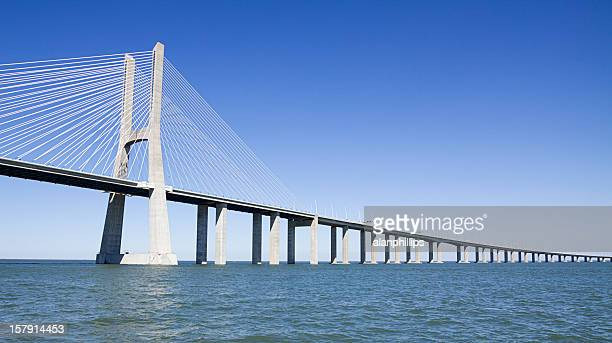 Vasco da Gama contemporary cable-stayed bridge