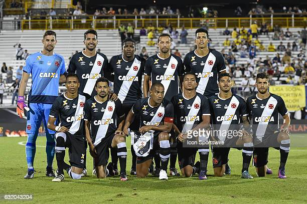 Vasco da Gama during the first half of the Florida Cup Semifinal match between Vasco da Gama and Corinthians on January 18 at Bright House Networks...