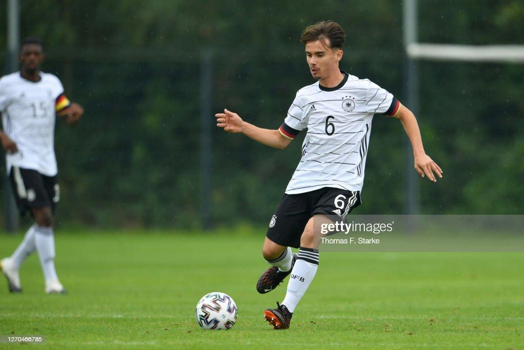 Germany U17 v Belgium U17 - International Friendly : News Photo