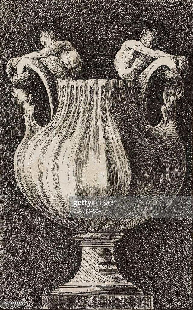 Vase Illustration From Premier Livre De Vases Inventes Par Edme