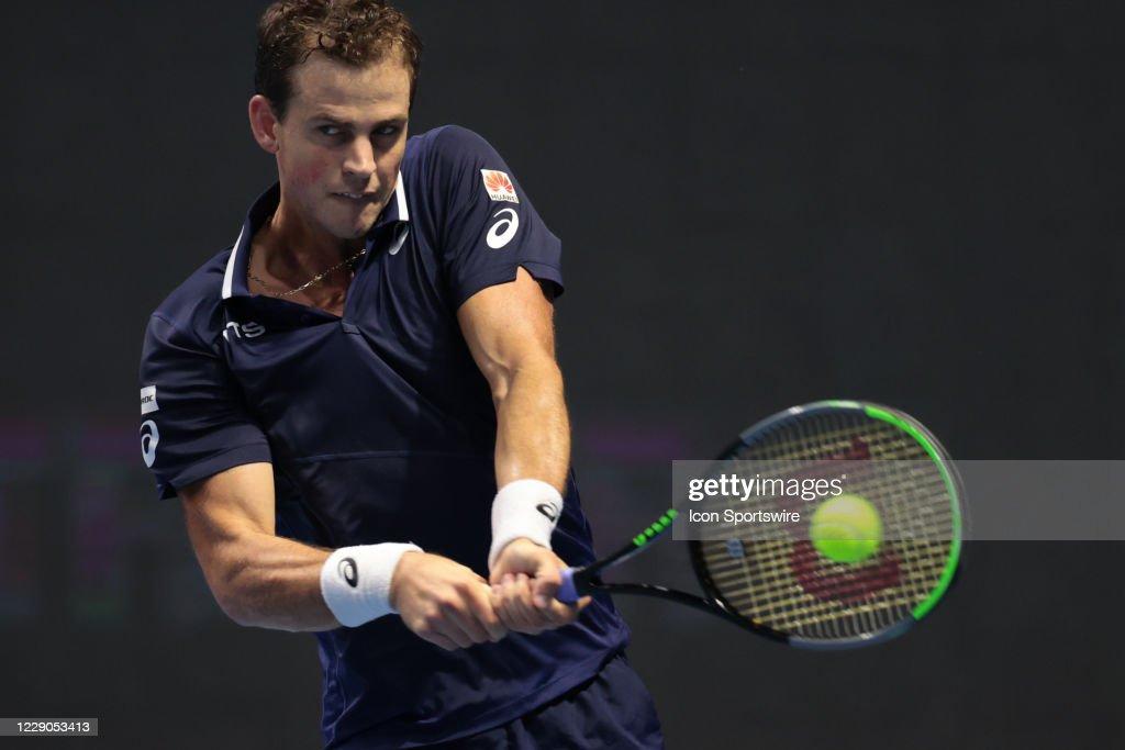 TENNIS: OCT 13 St Petersburg Open : News Photo