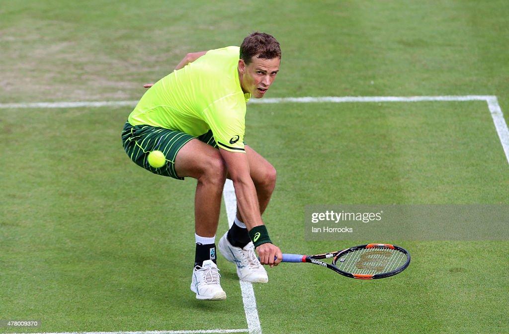 ATP Aegon Open Nottingham - Day One : News Photo