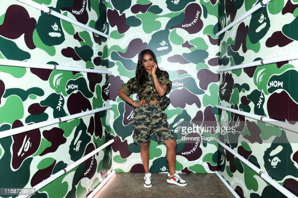 Vashtie attends as Montblanc and BAPE celebrate a Limited Edition Collaboration on June 27 2019 in New York City