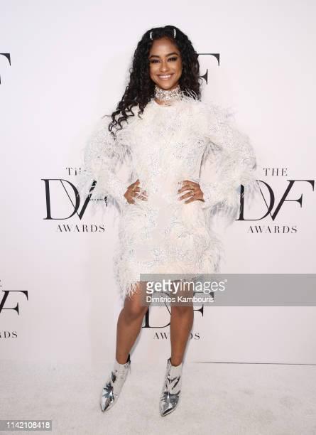 Vashtie Kola attends 10th Annual DVF Awards at Brooklyn Museum on April 11 2019 in New York City