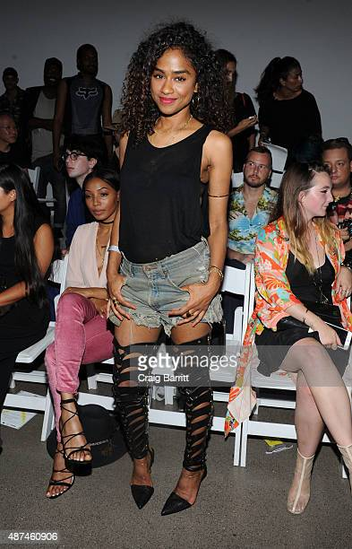 Vashtie Kola attends the VFILES fashion show during New York Fashion Week Spring 2016 on September 9 2015 in New York City