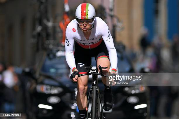 Vasil Kiryienka of Belarus and Team Ineos / during the 73rd Tour de Romandie 2019, Prologue a 3,87km Individual Time Trial from Neuchâtel to...