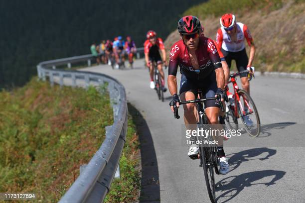 Vasil Kiryienka of Belarus and Team Ineos / during the 74th Tour of Spain 2019, Stage 15 a 154,4km stage from Tineo to Puerto del Acebo - Santuario...