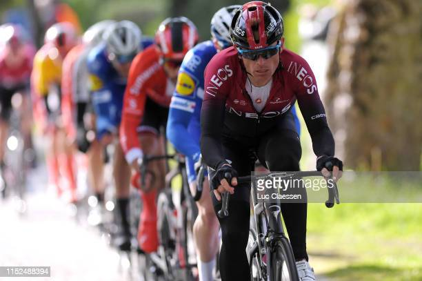 Vasil Kiryienka of Belarus and Team INEOS / during the 9th Tour of Norway 2019, Stage 2 a 174km stage from Kvinesdal to Mandal / @tourofnorway /...