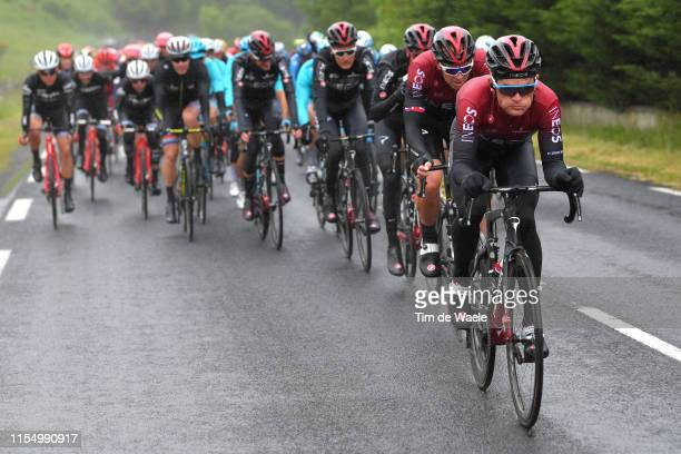 Vasil Kiryienka of Belarus and Team INEOS / Ian Stannard of Great Britain and Team INEOS / Peloton / during the 71st Criterium du Dauphine 2019,...