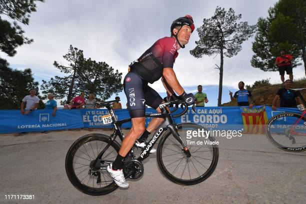 Vasil Kiryienka of Belarus and Team Ineos / Mas de La Costa / during the 74th Tour of Spain 2019, Stage 7 a 179,1km stage from Onda to Mas de La...