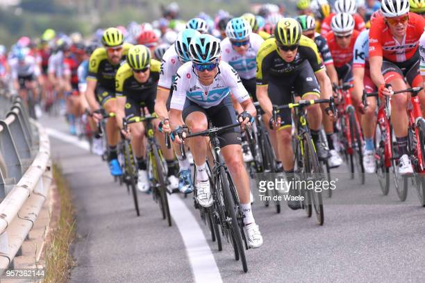 Vasil Kiryienka of Belarus and Team Sky / during the 101th Tour of Italy 2018, Stage 7a 159km stage from Pizzo to Praia a Mare / Giro d'Italia / on...