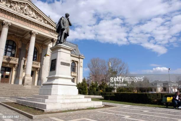 teatro nazionale vasile alecsandri - romania foto e immagini stock