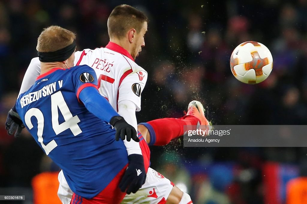 CSKA Moscow vs Crvena Zvezda : UEFA Europa League  : News Photo