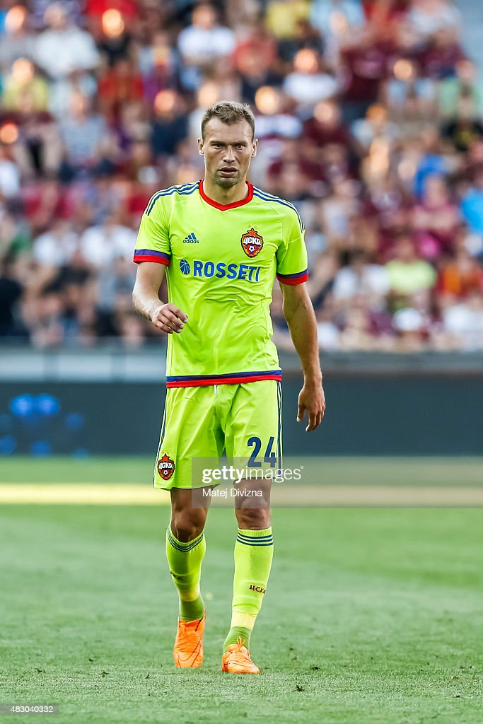 Sparta Prague v CSKA Moscow - UEFA Champions League: Third Qualifying Round 2nd Leg
