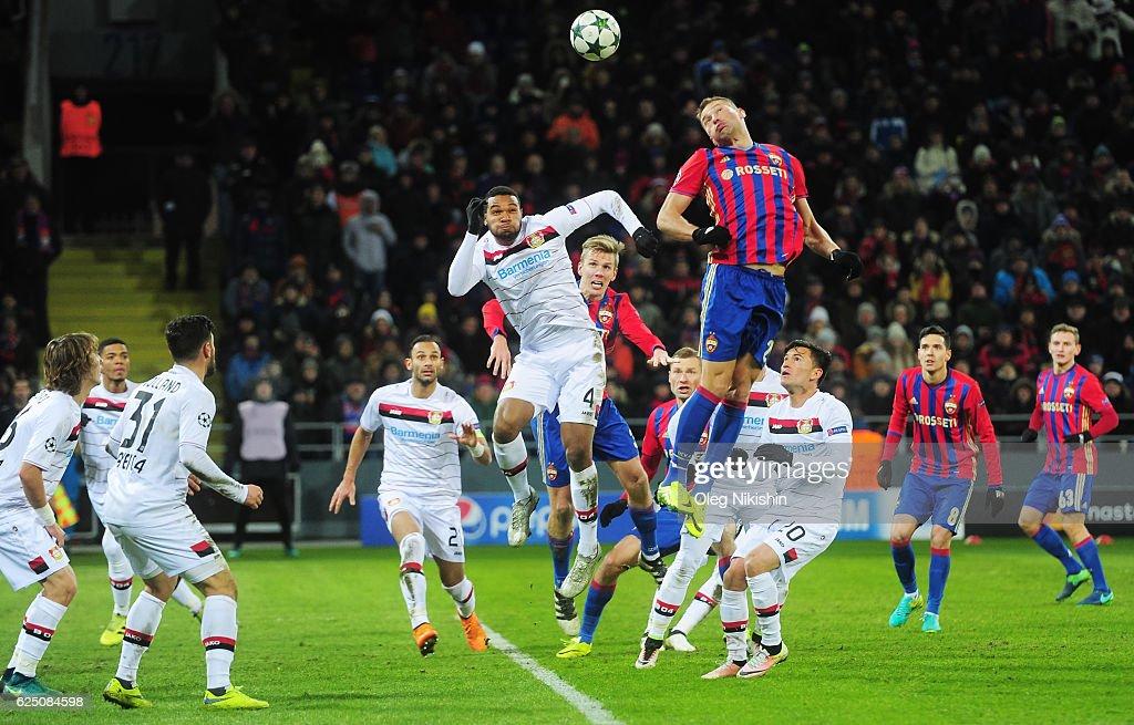 PFC CSKA Moskva v Bayer 04 Leverkusen - UEFA Champions League : News Photo