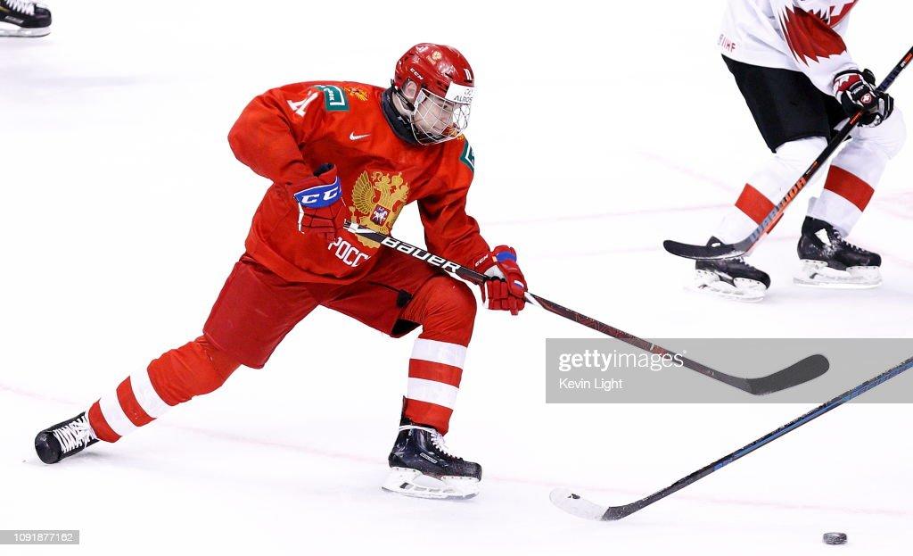 Russia v Switzerland : Bronze Medal Game - 2019 IIHF World Junior Championship : News Photo