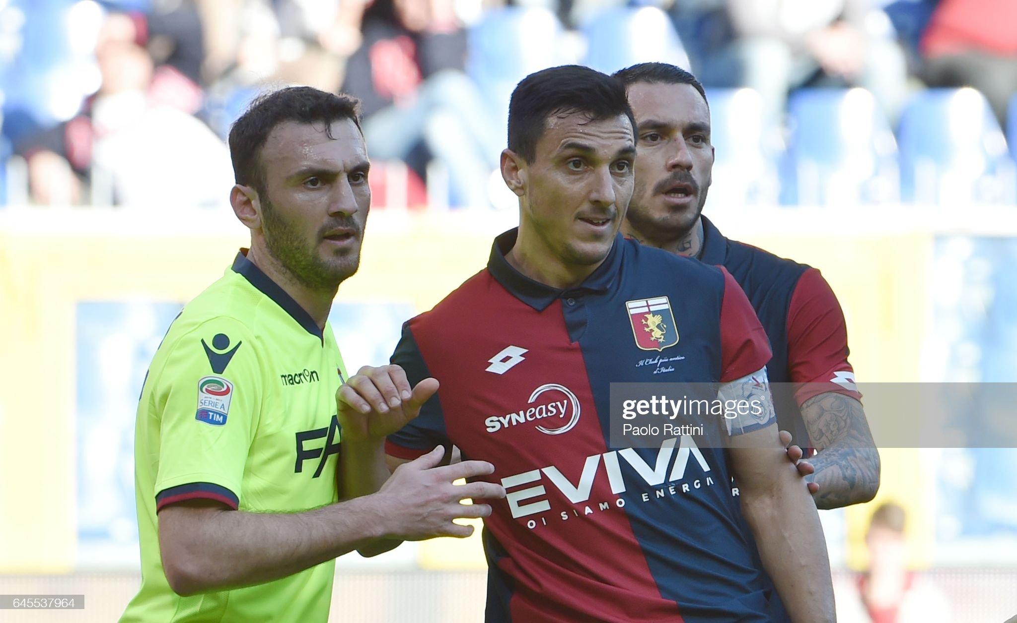 Genoa CFC v Bologna FC - Serie A : Foto di attualità