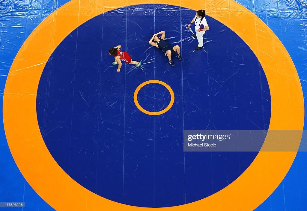 Wrestling Day 4: Baku 2015 - 1st European Games : Nachrichtenfoto