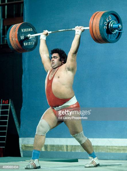 S VASILY ALEKSEYEV RUSSIAN OLYMPIC WEIGHT LIFTER 8X10 SPORTS ACTION PHOTO