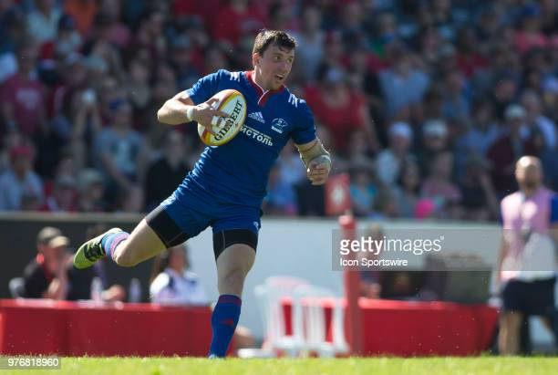 Vasily Artemyev 15 Fullback of Russia in the Canada versus Russia international Rugby Union action on June 16 at Twin Elms Rugby Park in Ottawa...