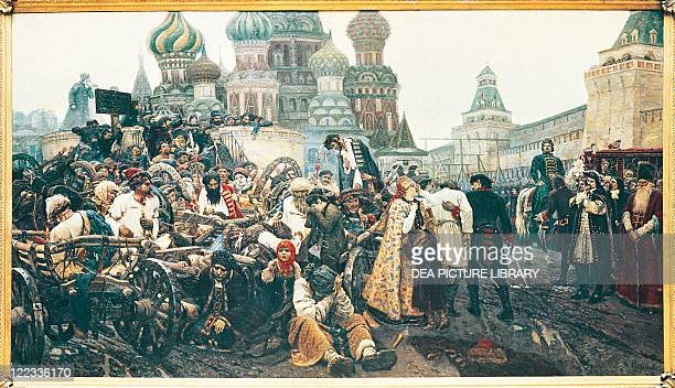 Vasily Surikov The Morning of the Execution of the Streltsy 1881