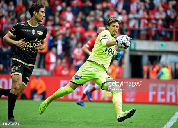 Vaso Vasic of Mouscron pictured during the Jupiler Pro League match between Standard de Liege and Royal Excelsior Mouscron on August 18 2019 in Liege...