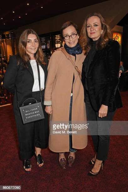 Vassi Chamberlain Features DIrector at PORTER magazine Dame Kristin Scott Thomas and Lucy Yeomans EditorinChief of PORTER magazine attend the PORTER...