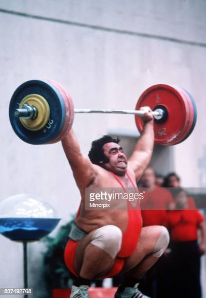 Vassili Alexeev Weightlifter Weightlifting 1980 at the Olympic Games in Moscow
