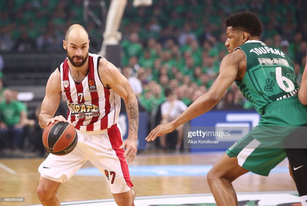 Zalgiris Kaunas v Olympiacos Piraeus - Turkish Airlines Euroleague Play off Game Three