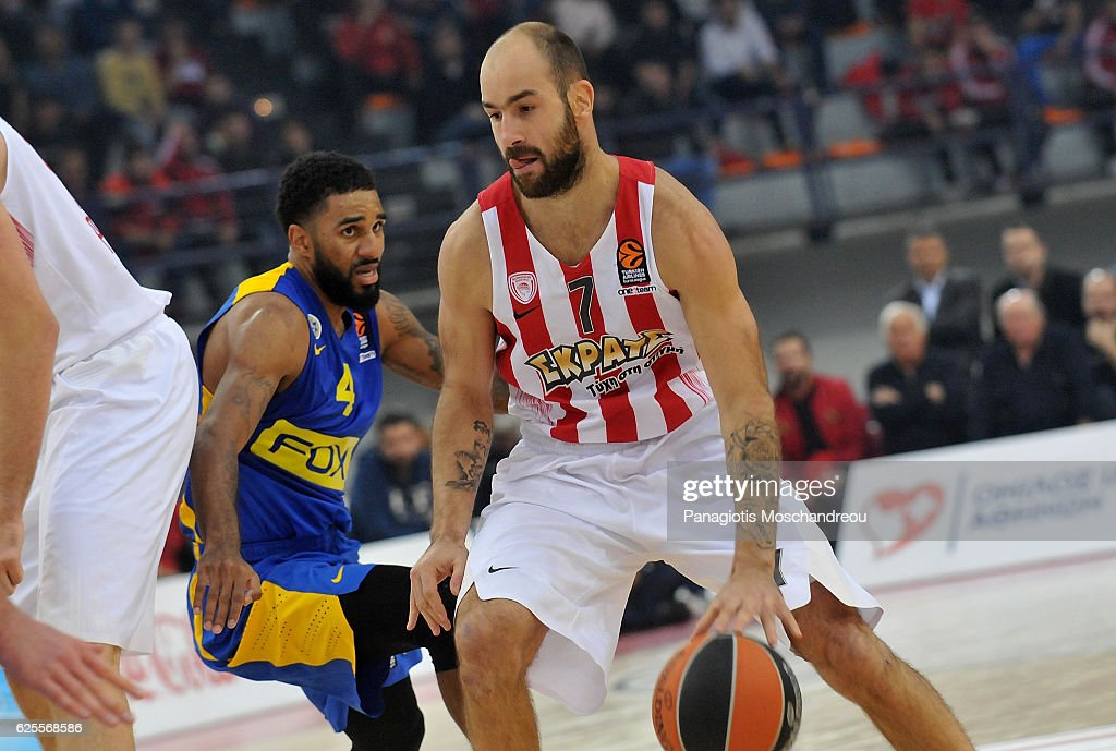 Olympiacos Piraeus v Maccabi Fox Tel Aviv - Turkish Airlines Euroleague