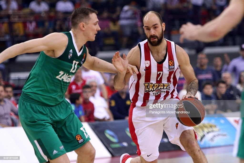 Olympiacos Piraeus v Zalgiris Kaunas - Turkish Airlines Euroleague Play off Game Two
