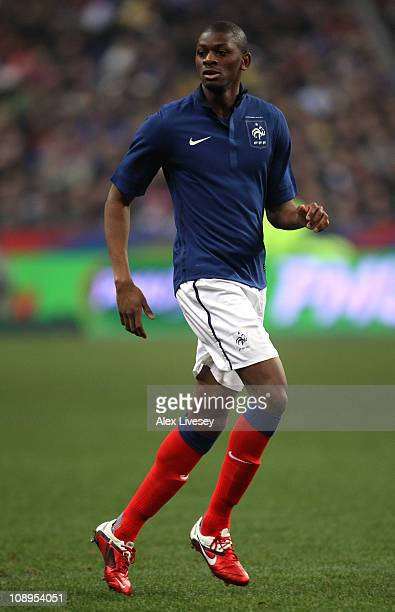 Vassiriki Diaby of France during the International friendly match between France and Brazil at Stade de France on February 9 2011 in Paris France