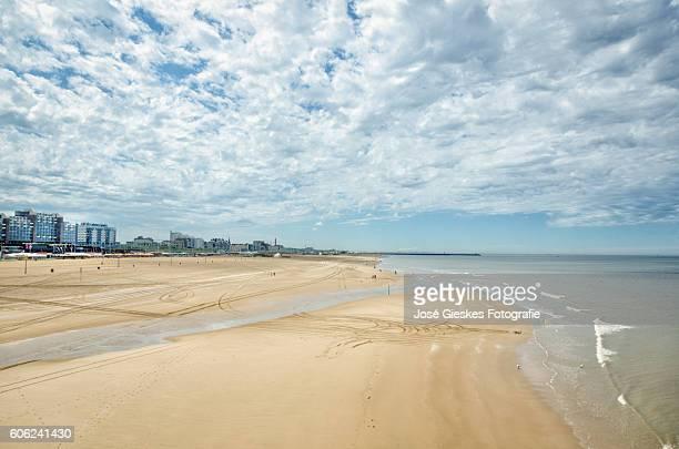 A vast beach