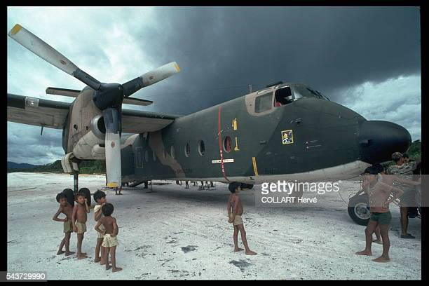 A vast colonization project involving 6500 km of border area in the western Amazon Brazilian Army 'Buffalo' planes are the Missions' only rapid and...