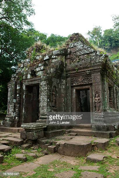 Vat Phou or Wat Phu which means temple mountain in Lao is a ruined Khmer temple complex in southern Laos It is located at the base of mount Phu Kao...
