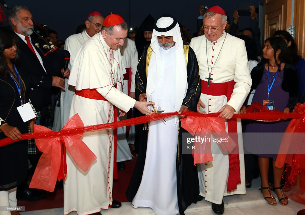 UAE-VATICAN-CHURCH : News Photo