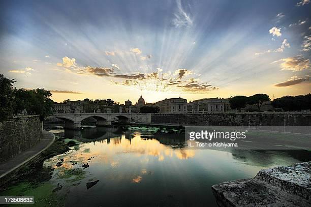 Vatican Sunset
