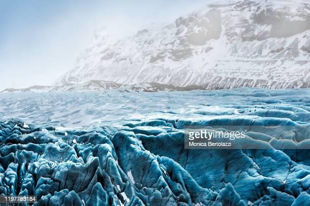 vatnajokull glacier - eismeer stock-fotos und bilder